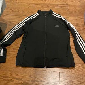Black Adidas Zip Up